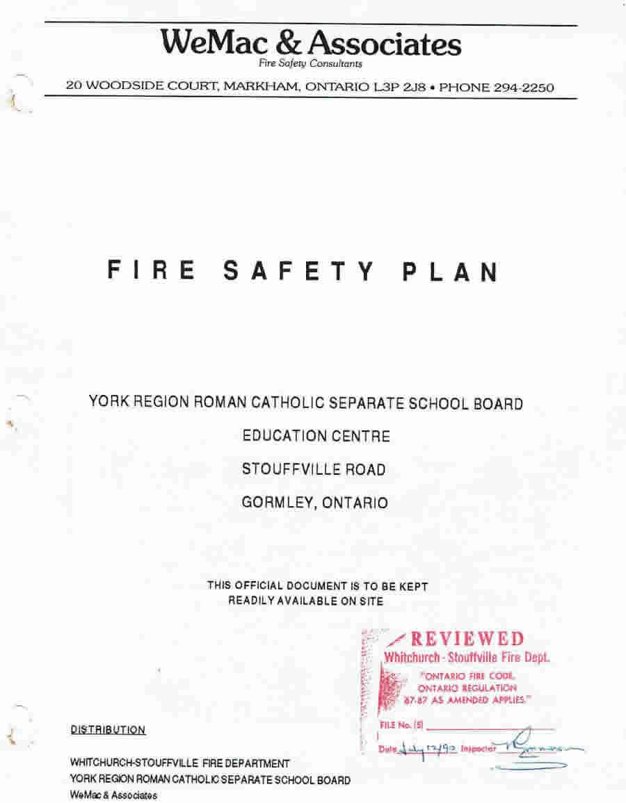 WeMac & Associates - Fire Safety Plans Since 1989